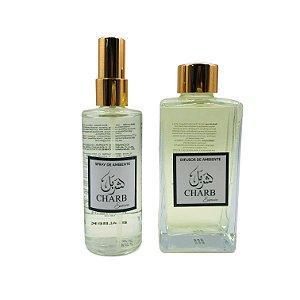 Kit Difusor de Ambiente + Home Spray Linha Memórias do Líbano - Baalbek 250 ml e 120 ml
