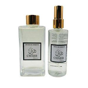 Kit Difusor de Ambiente + Home Spray Linha Memórias do Líbano - Broumana 250 ml e 120 ml