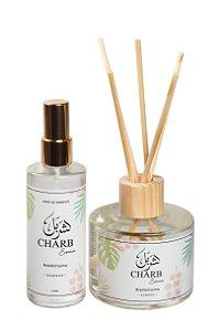 Kit Difusor de Ambiente + Home Spray Linha Brasileiríssima - Bamboo 250 ml e 120 ml