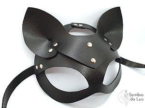 Máscara de gato 'Bastet' preta