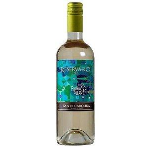 Vinho Santa Carolina Reservado Branco Suave