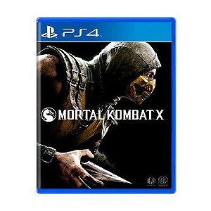 Jogo Mortal Kombat X - PS4 (Capa Dura) Semi Novo