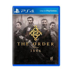Jogo The Order 1886 - PS4 (Capa Dura) Semi Novo