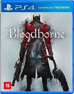 Jogo Bloodborne - PS4 (Capa Dura) Semi Novo