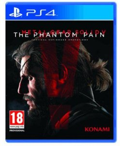 Jogo Metal Gear Solid 5: The Phantom Pain - PS4 (Capa Dura) Semi Novo