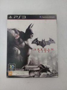Jogo Batman Arkham City - PS3 (Capa Dura) Semi Novo