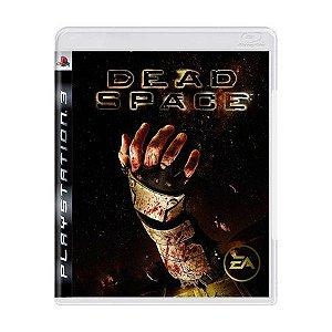 Jogo Dead Space - PS3 (Capa Dura) Semi Novo