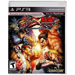 Jogo Street Fighter X TekKen   - PS3 (Capa Dura) Semi Novo