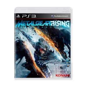 Jogo Metal Gear Rising: Revengeance - PS3 (Capa Dura) Semi Novo