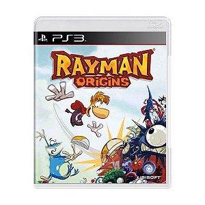Jogo Rayman Origins- PS3 (Capa Dura) Semi Novo