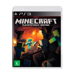 Jogo Minecraft Edition - PS3 (Capa Dura) Semi Novo