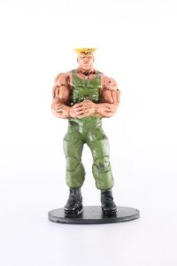 Guile Action Figure em Resina
