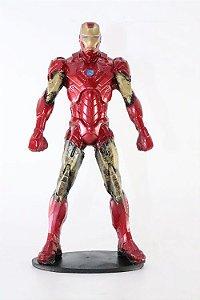 Homem de Ferro Action Figure em Resina