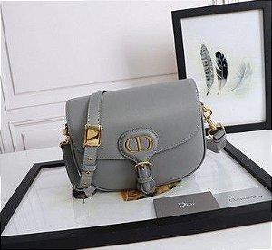 """Bolsa Bobby Dior Média """"Grey"""" (PRONTA ENTREGA)"""