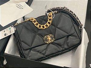 "Bolsa Chanel 19 ""Black&Gold"""