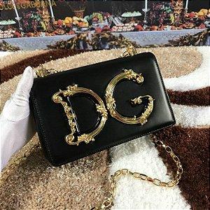 "Bolsa Dolce & Gabbana DG Girl ""Black"" (PRONTA ENTREGA)"