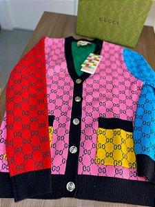 """Cardigan Gucci GG """"Multicolor"""" (PRONTA ENTREGA)"""