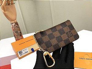"""Porta Moeda Louis Vuitton com Mosquetão """"Brown"""""""