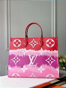 "Bolsa Louis Vuitton Tote OnTheGo ""Rouge"""