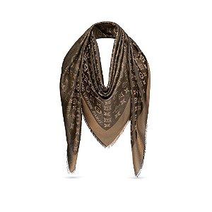 "Cachecol Louis Vuitton Monogram ""Brown"""