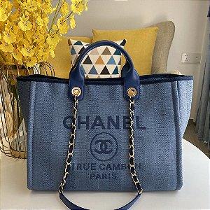 "Bolsa Chanel Deauville ""Blue"""
