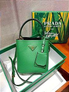 "Bolsa Prada Panier ""Bright Green"""