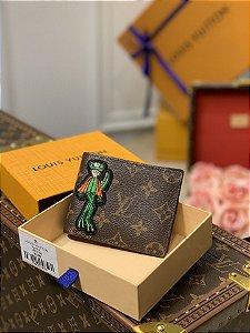 """Carteira Louis Vuitton Slender """"Canvas Monogram"""" (PRONTA ENTREGA)"""