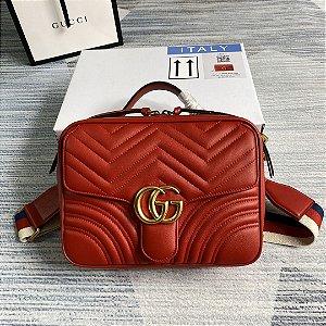 "Bolsa Gucci Marmont ""Red"""