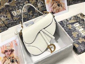 "Bolsa Dior Saddle ""White"""