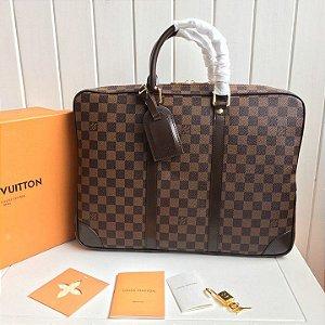 "Pasta Louis Vuitton Voyage PM Damier Ebène ""Brown"""