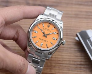 "Relógio Rolex Oyster Perpetual ""Orange"""
