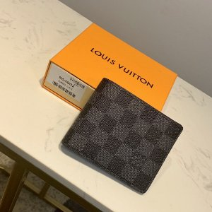 "Carteira Louis Vuitton Slender ""Black"""