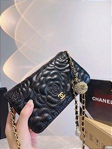 "Bolsa Chanel Camélia Retro ""Black"""