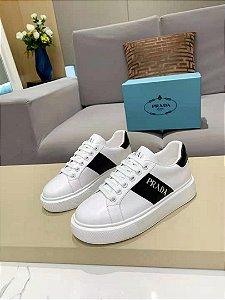 "Tênis Prada Sneaker ""White&Black"""