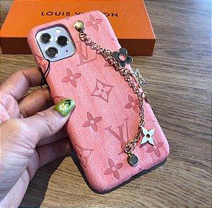 """Capa Para Celular Louis Vuitton """"Rosa"""" (PRONTA ENTREGA)"""