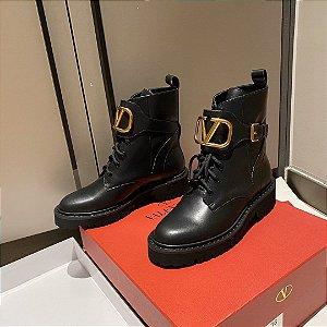"Bota Valentino ""Black&Gold"""