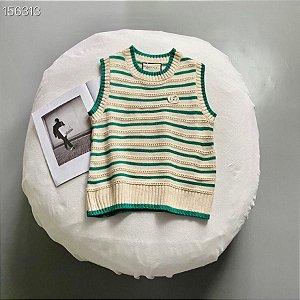 "Colete Suéter Gucci ""White&Green"""