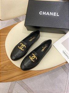 "Mocassim Chanel ""Black"""