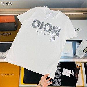 """Camiseta Dior """"White"""" (PRONTA ENTREGA)"""
