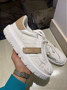 """Tênis Sneaker Dior-ID """"Nude"""" (PRONTA ENTREGA)"""