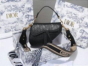 "Bolsa Dior Saddle ""Black"""