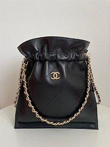 "Bolsa Chanel Satchel ""Black"""