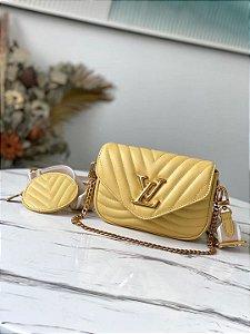 "Bolsa Louis Vuitton Multi-Pochette New Wave ""Banane"""