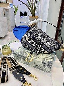 "Bolsa Dior Saddle ""Toile de Jouy"" (PRONTA ENTREGA)"