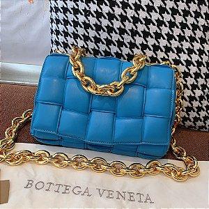 """Bolsa Bottega Veneta The Chain Cassette """"Mallard"""" (PRONTA ENTREGA)"""