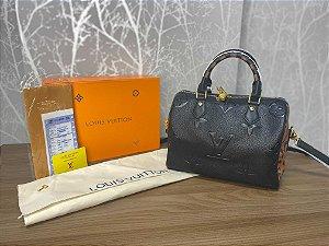 """Bolsa Louis Vuitton Speedy Bandoelière """"Wild at Heart"""" (PRONTA ENTREGA)"""
