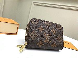 """Carteira Louis Vuitton Zippy Duplo """"Brown"""" (PRONTA ENTREGA)"""