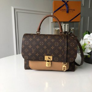 "Bolsa Louis Vuitton Marignan Monogram ""Brown"""