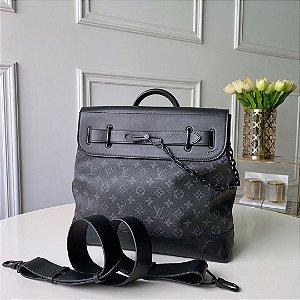 "Bolsa Louis Vuitton Steamer Monogram ""All Black"""