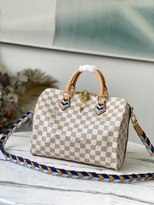 "Bolsa Louis Vuitton Speedy Bandoulière  ""Damier Azur"" (PRONTA ENTREGA)"